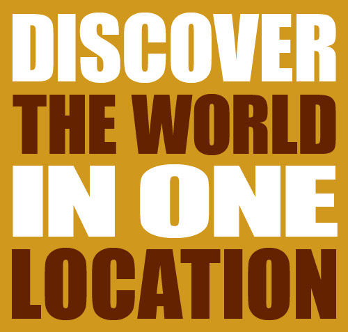 Discover The WOrld In One Location
